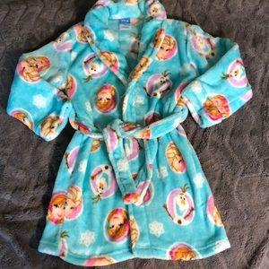 Girls Disney Frozen bath robe